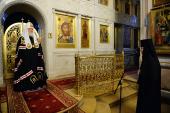 Слово Святейшего Патриарха Кирилла в канун Великого Вторника в Алексеевском ставропигиальном монастыре