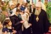 Архиерейское служение в праздник Входа Господня в Иерусалим в Исаакиевском соборе Санкт-Петербурга. Литургия и крестный ход