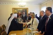 Председатель Отдела внешних церковных связей встретился с председателем Народного совета Сирии