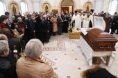 Состоялось отпевание и погребение поэта Евгения Евтушенко