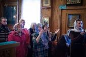 Литургию с переводом на жестовый язык совершили в храме Северодвинска