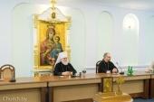 Состоялась предпасхальная встреча митрополита Минского и Заславского Павла с представителями средств массовой информации