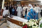 Митрополит Минский Павел возглавил отпевание духовника Жировичского монастыря архимандрита Феодосия (Повного)