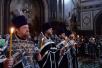 Патриаршее служение в Великую Пятницу в Храме Христа Спасителя в Москве. Вечерня с выносом Плащаницы