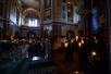 Патриаршее служение в канун Великой Субботы в Храме Христа Спасителя г. Москвы