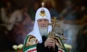 Слово Святейшего Патриарха Кирилла после Пасхальной великой вечерни в Храме Христа Спасителя в Москве