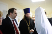 Посещение Святейшим Патриархом Кириллом Российской детской клинической больницы в Москве