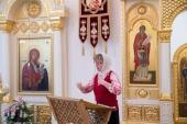 В Саратове совершено Пасхальное богослужение с сурдопереводом