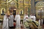 В праздник Светлого Христова Воскресения Предстоятель Православной Церкви Молдовы возглавил богослужение в соборе Рождества Христова в Кишиневе