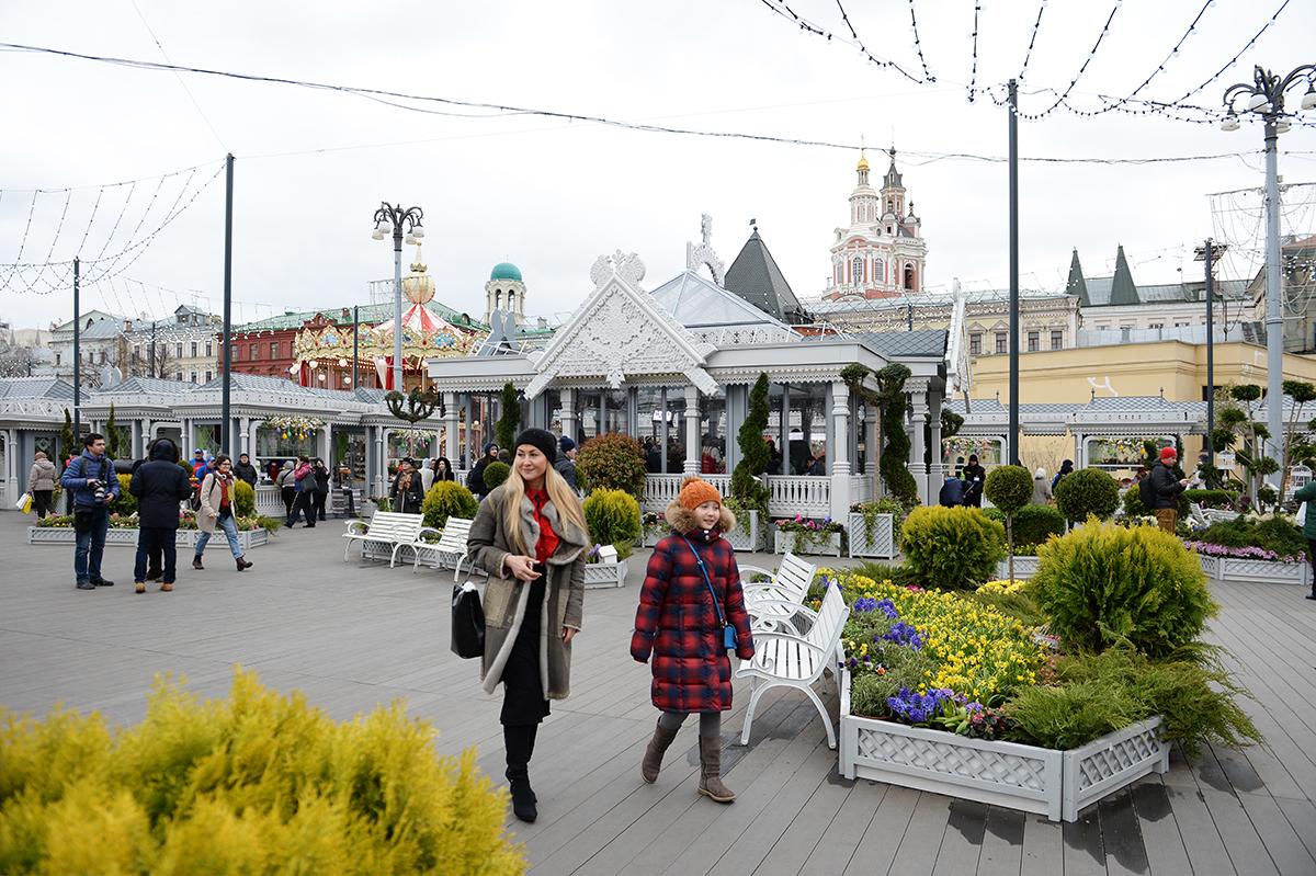 Посещение Святейшим Патриархом Кириллом фестиваля «Пасхальный дар» в Москве