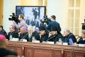 Приветствие Святейшего Патриарха Кирилла участникам V пленума Христианского межконфессионального консультативного комитета