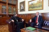 Председатель ОВЦС встретился с новоназначенным послом Хорватии в России