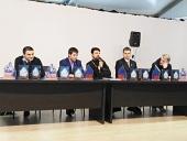 При поддержке Синодального отдела по делам молодежи на Международной выставке «Спорт» в Москве прошла презентация проекта «Русский воин»