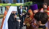 Председатель Отдела внешних церковных связей освятил домовый храм при Центре здоровья «Верба Майер»