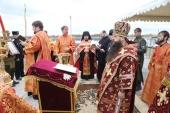 В станице Шелковская Чеченской Республики заложен новый храм