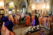 Слово Святейшего Патриарха Кирилла при вручении архиерейского жезла Преосвященному Тарасию, епископу Великоустюжскому и Тотемскому
