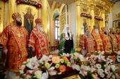 Слово Святейшего Патриарха Кирилла в день памяти блж. Матроны Московской после Литургии в Покровском ставропигиальном монастыре г. Москвы