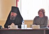В рамках окружной педагогической конференции состоялась встреча представителей Бежецкой епархии и педагогов