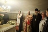 В Троице-Сергиевой лавре молитвенно почтили память Святейшего Патриарха Пимена