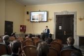 Студенты Московской, Санкт-Петербургской и Киевской духовных академий приняли участие в конференции «Актуальные вопросы современной богословской науки»