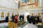 Участники заседания Священного Синода молитвенно почтили память митрополита Нифонта (Солодухи)
