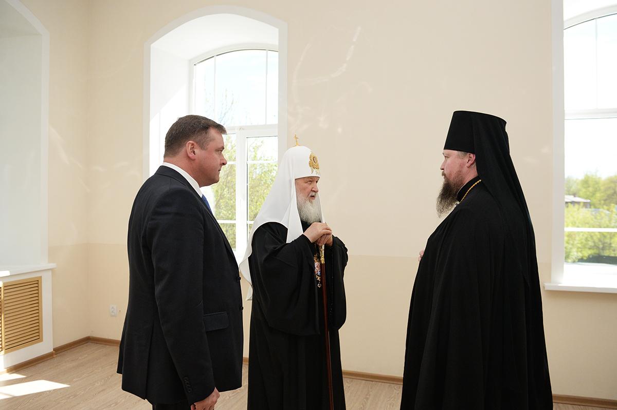 Посещение Святейшим Патриархом Кириллом Касимовской епархии