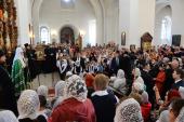 Святейший Патриарх Кирилл посетил Касимовскую епархию