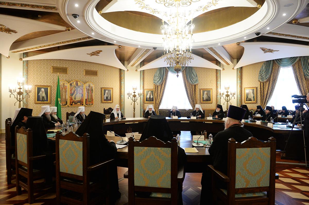 Заседание Высшего Церковного Совета 11 мая 2017 года