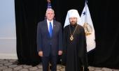 Председатель Отдела внешних церковных связей встретился с вице-президентом США Майклом Пенсом
