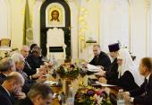 Святейший Патриарх Кирилл встретился с Президентом Государства Палестина Махмудом Аббасом