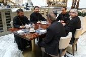Председатель ОВЦС встретился с главой Англиканской Церкви в Северной Америке