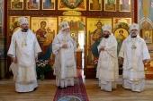 Председатель ОВЦС сослужил Блаженнейшему Митрополиту Тихону за Божественной литургией в кафедральном соборе Православной Церкви в Америке