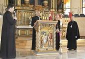 Епископ Каскеленский Геннадий выступил на Мариологическом конгрессе Римо-Католической Церкви в Караганде
