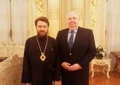 Председатель Отдела внешних церковных связей посетил Посольство Российской Федерации в США