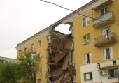 Священники оказывают поддержку пострадавшим в результате взрыва в жилом доме в Волгограде