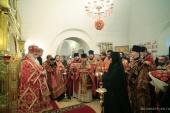 В Зачатьевском ставропигиальном монастыре отметили день памяти основательниц обители