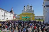 Торжества в день памяти прп. Пафнутия прошли в Свято-Пафнутьевом Боровском монастыре