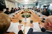 Церковные представители приняли участие в заседании Межфракционной депутатской группы по защите христианских ценностей