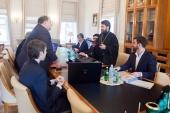 Ректор Общецерковной аспирантуры и докторантуры встретился с руководством ряда московских вузов