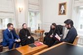Митрополит Волоколамский Иларион встретился с руководителем Федерального агентства по делам молодежи А.В. Бугаевым