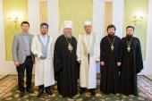 Состоялась встреча главы Казахстанского митрополичьего округа с Верховным муфтием Казахстана
