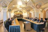 Состоялось очередное заседание расширенного состава Экспертного совета по церковному искусству, архитектуре и реставрации