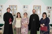 Совет по культуре Санкт-Петербургской епархии подписал соглашение о сотрудничестве с крупнейшей в России библиотекой для слепых