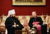 Встреча митрополита Волоколамского Илариона с архиепископом Бари-Битонто монсеньором Франческо Какуччи