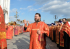 Патриаршее служение в канун дня памяти святителя Николая Чудотворца в Храме Христа Спасителя в Москве. Принесение мощей святителя Николая