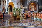 Слово Святейшего Патриарха Кирилла на встрече мощей святителя Николая Чудотворца в Храме Христа Спасителя в Москве