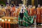 Слово Святейшего Патриарха Кирилла в день памяти святителя Николая Чудотворца после Литургии в Храме Христа Спасителя в Москве