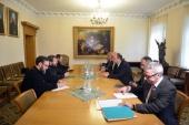 Председатель Отдела внешних церковных связей встретился с министром иностранных и европейских дел Хорватии