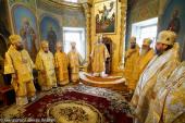 Блаженнейший митрополит Онуфрий возглавил празднования по случаю 25-летия Николаевской епархии