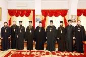 Глава Митрополичьего округа в Республике Казахстан провел встречи с делегациями Болгарской и Кипрской Православных Церквей